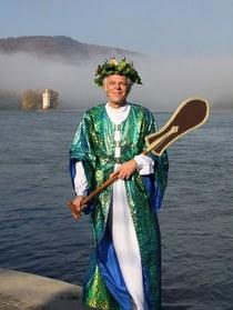 Bild: Kostümführung mit Vater Rhein