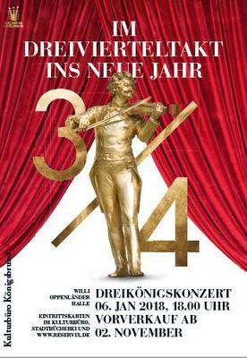 Bild: Dreikönigskonzert - Im Dreivierteltakt ins Neue Jahr