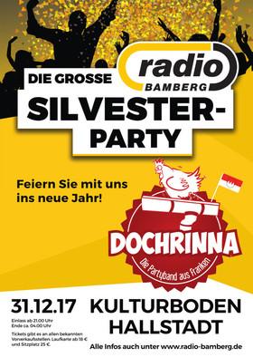 Bild: Die grosse RADIO BAMBERG Silvesterparty - mit Dochrinna