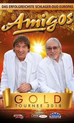 Bild: Die Amigos - GOLD Tournee 2018