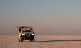 Bild: Wärthl & Bauer: Namibia und Botswana - Premiere!