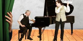 Bild: Versuch über die wahre Art das Clavier zu spielen - Franziska Kleinert und Thomas Bächli