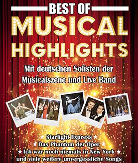 Bild: Musical Highlights - Broadway Melodies - präsentiert von ATeams und der Agentur Platner