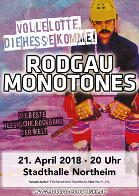 """Bild: Rodgau Monotones  """"Volle Lotte Die Hesse komme!"""" -"""
