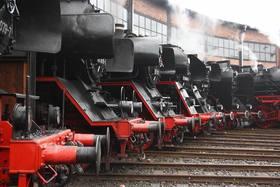 Bild: Zum 10.Dampfloktreffen nach Dresden