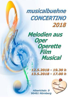 Bild: musicalbuehne Concertino 2018 - Melodien aus Oper, Operette, Film und Musical
