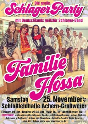 Bild: Die große Schlagerparty mit Familie HOSSA - Die große Schlagerparty mit Deutschlands geilster Schlagerband FAMILIE HOSSA