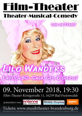 Bild: Lilo Wanders: Endlich 60- Gaga, Geil & Gierig!