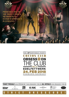Bild: OBSESSION – THE CLUB Vol. 27 - Probably one of the most famous metrosexual Fetish Happenings in Germany