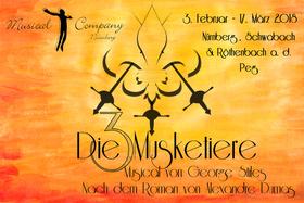 Bild: Die drei Musketiere - Musicalcompany Nürnberg