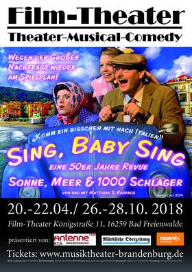 Bild: Sing, Baby Sing - Premiere