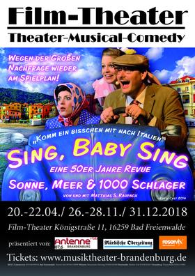 Bild: Sing, Baby Sing - Musiktheater Brandenburg