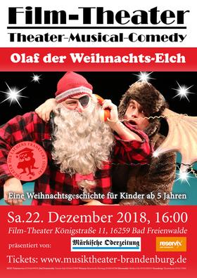 Bild: Olaf der Weihnachts-Elch - Gastspiel!