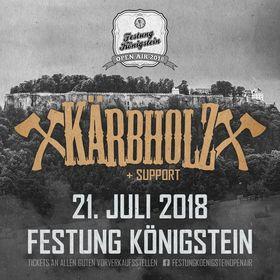 Bild: Festung Königstein Open Air 2018 - Kärbholz + Support