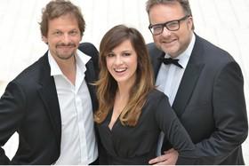Bild: SWR3 Live-Lyrix - Natalia Avelon, Ronald Spiess und Ben Streubel