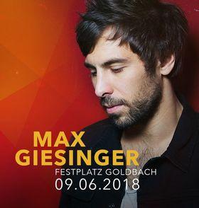 Bild: Goldbach 800 - VIP Zusatzticket - Max Giesinger