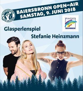 Bild: Baiersbronn Open-Air - Glasperlenspiel & Stefanie Heinzmann