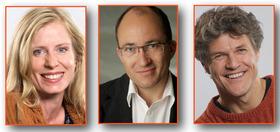 Bild: Wir kommt selten allein -  Ralph Neubauer, Verena Bill und Michael Koenen