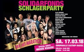 Bild: Solidarfonds Schlagerparty 2018 - Der Hitmarathon