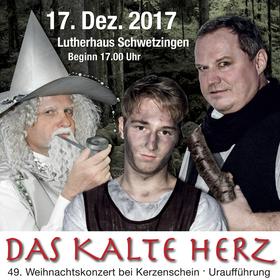 Bild: DAS KALTE HERZ - MUSICAL - 49. Weihnachtskonzert bei Kerzenschein