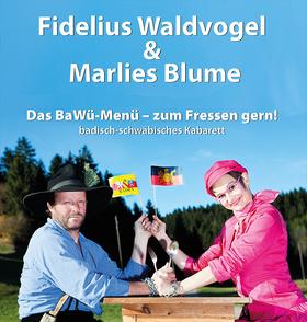 Bild: Fidelius Waldvogel & Marlies Blume - Das BaWü-Menue - zum Fressen gern!