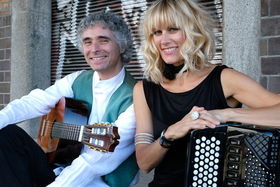 Bild: Christine Schmid & Gaetano Siino - Paris-Rom-Berlin - Chanson goes Gypsy