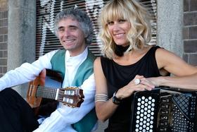 Bild: Christine Schmid & Gaetano Siino - Paris-Rom-Berlin - Chanson goes Gypsy