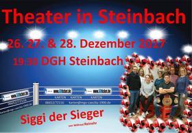 """Bild: Theater in Steinbach - """"Siggi der Sieger"""" von Wilfried Reinehr"""