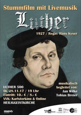 Bild: Luther - Stummfilm mit Livemusik