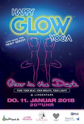 "Bild: Happy Glow Yoga @ Lindenpark - ""Glow in the Dark"""