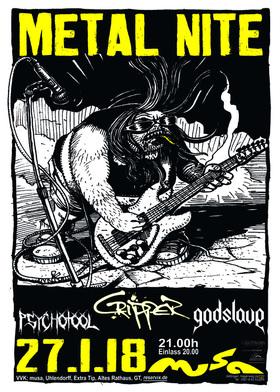 Bild: Metal Nite - Eine harte Nacht mit: Cripper - Godslave - Psychotool