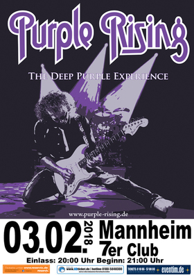 Bild: Purple Rising - The Deep Purple Experience