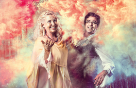 """Bild: Annette Hölzl und Philip Flottau als """"Duetto Traversale"""" - Annette Hölzl und Philip Flottau als """"Duetto Traversale"""""""