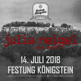 Bild: Festung Königstein Open Air 2018 - Julia Neigel + Band