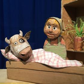 Bild: marotte Figurentheater - Die Kuh Lieselotte