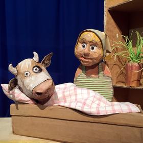 Bild: Die Kuh Lieselotte - Marotte Figurentheater
