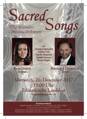 Bild: Sacred Songs - Das besondere Weihnachtskonzert