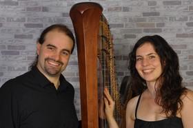 Bild: Das Harfenduo präsentiert - Ravel vs. Debussy