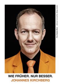 Bild: Johannes Kirchberg - Ein Mann gibt Auskunft - Das Kästner Programm