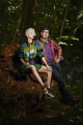"""Bild: Lisa Eckhart & Sven Kemmler - mit """"Die Nymphe und der Finstere Förster"""""""