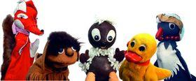 Bild: Pittiplatsch und seine Freunde - mit den Original-TV-Figuren