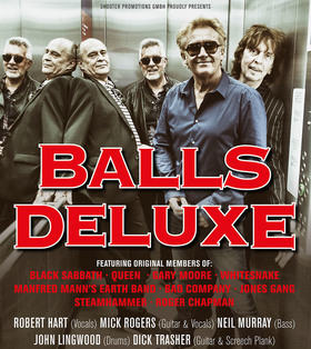 Bild: Balls Deluxe - feat.original members of Black Sabbath + Queen + Whitesnake u.v.m.