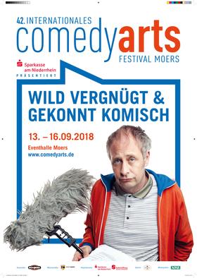 Bild: Internationales ComedyArts Festival Moers 2018 - Tagesticket Samstag