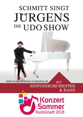 Bild: SCHMITT singt JÜRGENS - Die UDO SHOW - Konzertsommer Rudolstadt