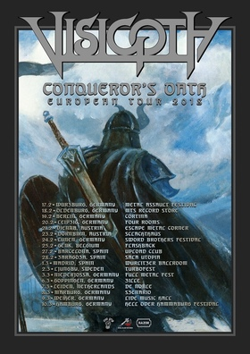 VISIGOTH - European Tour 2018