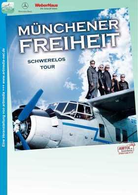Bild: MÜNCHENER FREIHEIT Schwerelos-Tour 2018