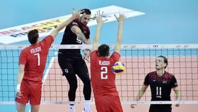 Volleyball Nations League 2018 // GER-ARG & RUS-JAP (Männer)