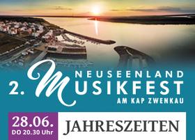 Bild: 2. NeuSeenland Musikfest am Kap Zwenkau - JAHRESZEITEN mit Yuki Manuela Janke,Uwe Steger und dem Leipziger Symphonieorchester
