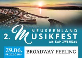 Bild: 2. NeuSeenland Musikfest am Kap Zwenkau - BROADWAY FEELING mit Tertia Botha, Monika Staszak, Christian Grygas und dem Leipziger Symphonieorchester & Band