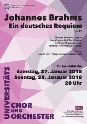 Bild: Johannes Brahms: Ein deutsches Requiem